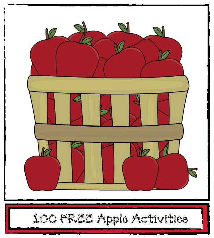 apple activities, apple graphs, apple games, apple crafts, 125 apple facts, apple report