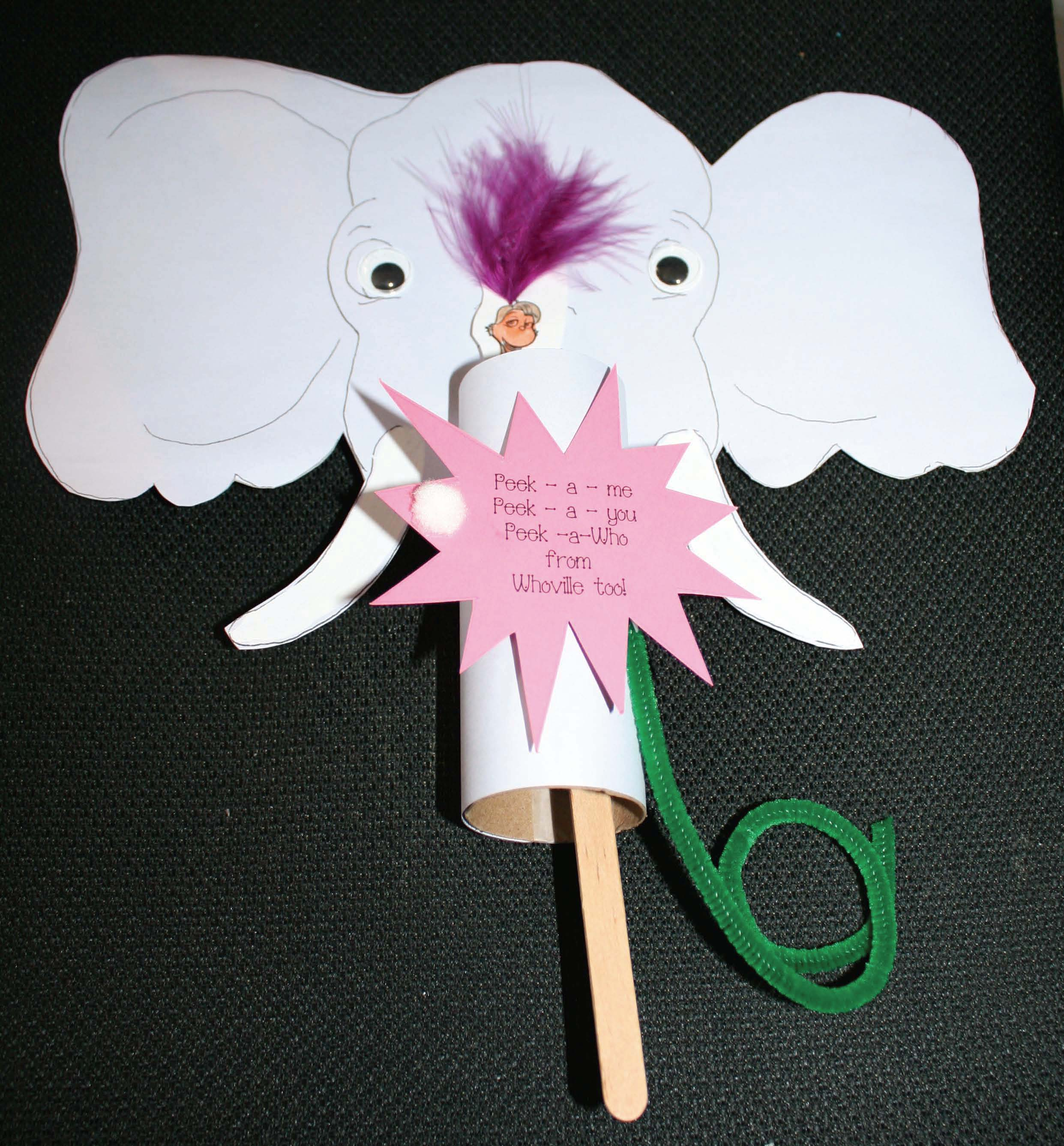horton the elephant activities, horton writing prompts, color games, elephant crafts, elephant activities, color activities, color games, color crafts, color emergent reader, elephant games, elephant centers, 5 senses activities, emergent readers