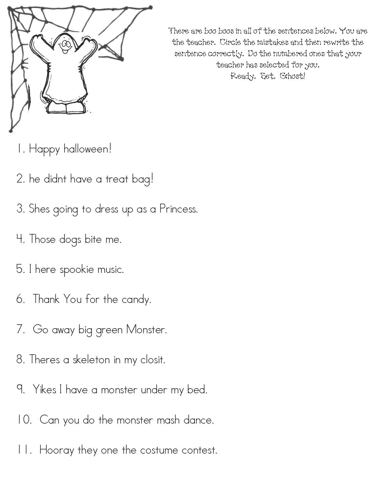 Halloween activities, halloween worksheets, halloween games