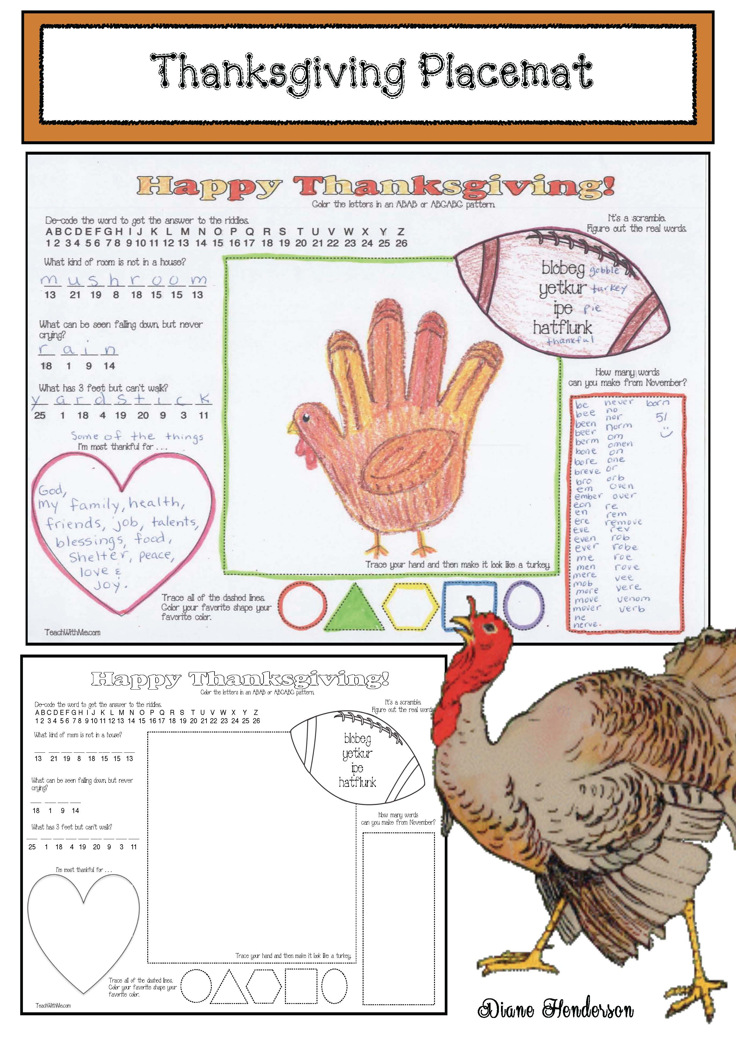 K math activities for fall, 1st grade math activities for fall, graphing activities, print & go math worksheets for K, print & go math worksheets for 1st, place value activities, place value crafts, math crafts, math games,
