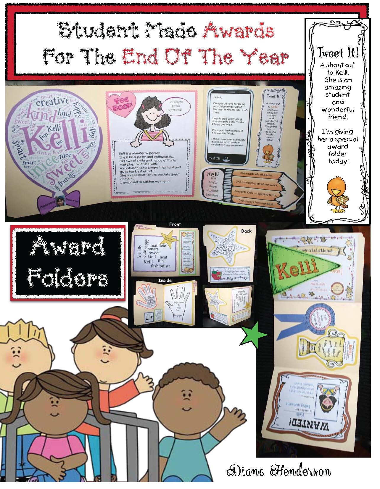end of the year activities, end of the year awards, end of the year writing prompts