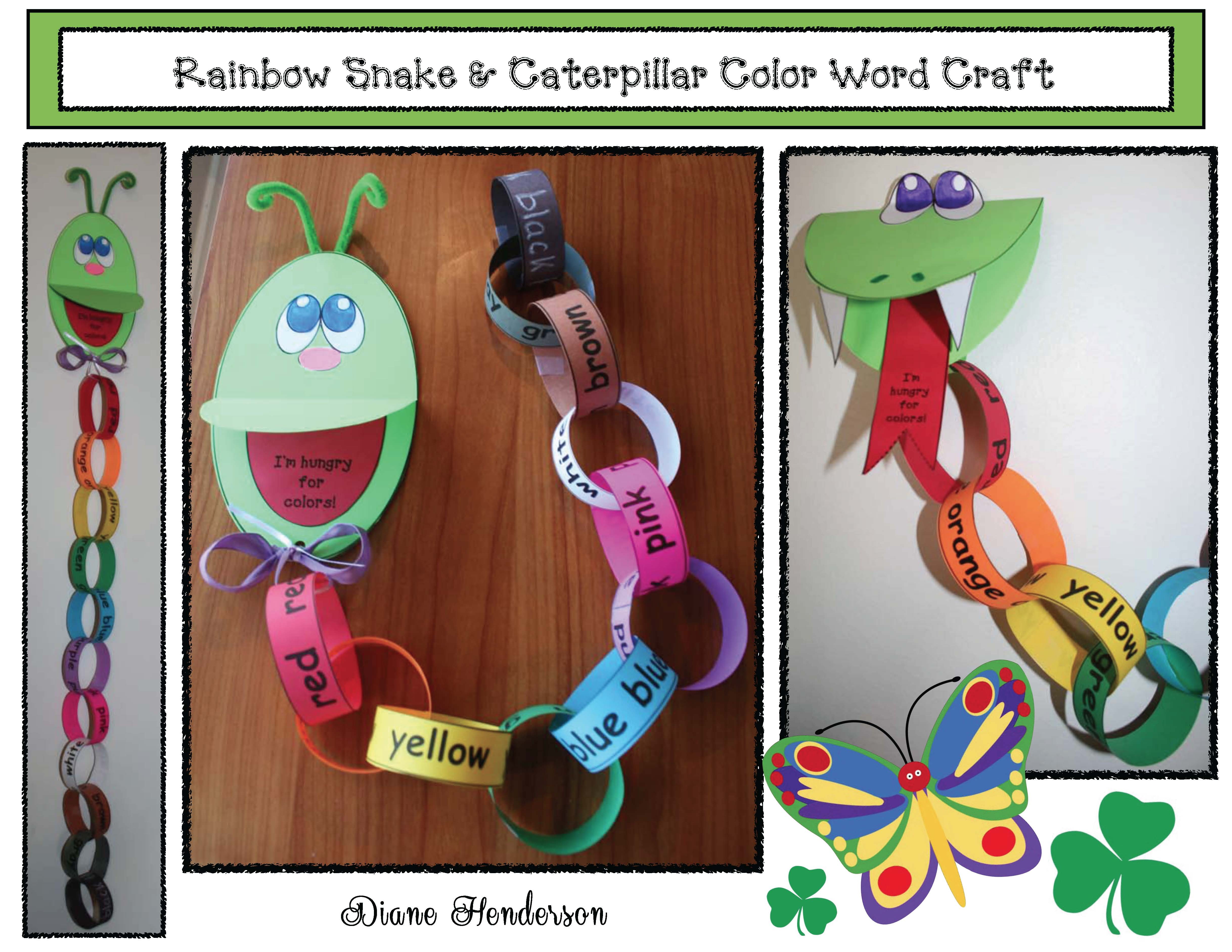 butterfly activities, butterfly crafts, butterfly puzzles, skip counting activities, color activities, the very hungry caterpillar activities, caterpillar crafts, rainbow activities, describing caterpillars and butterflies