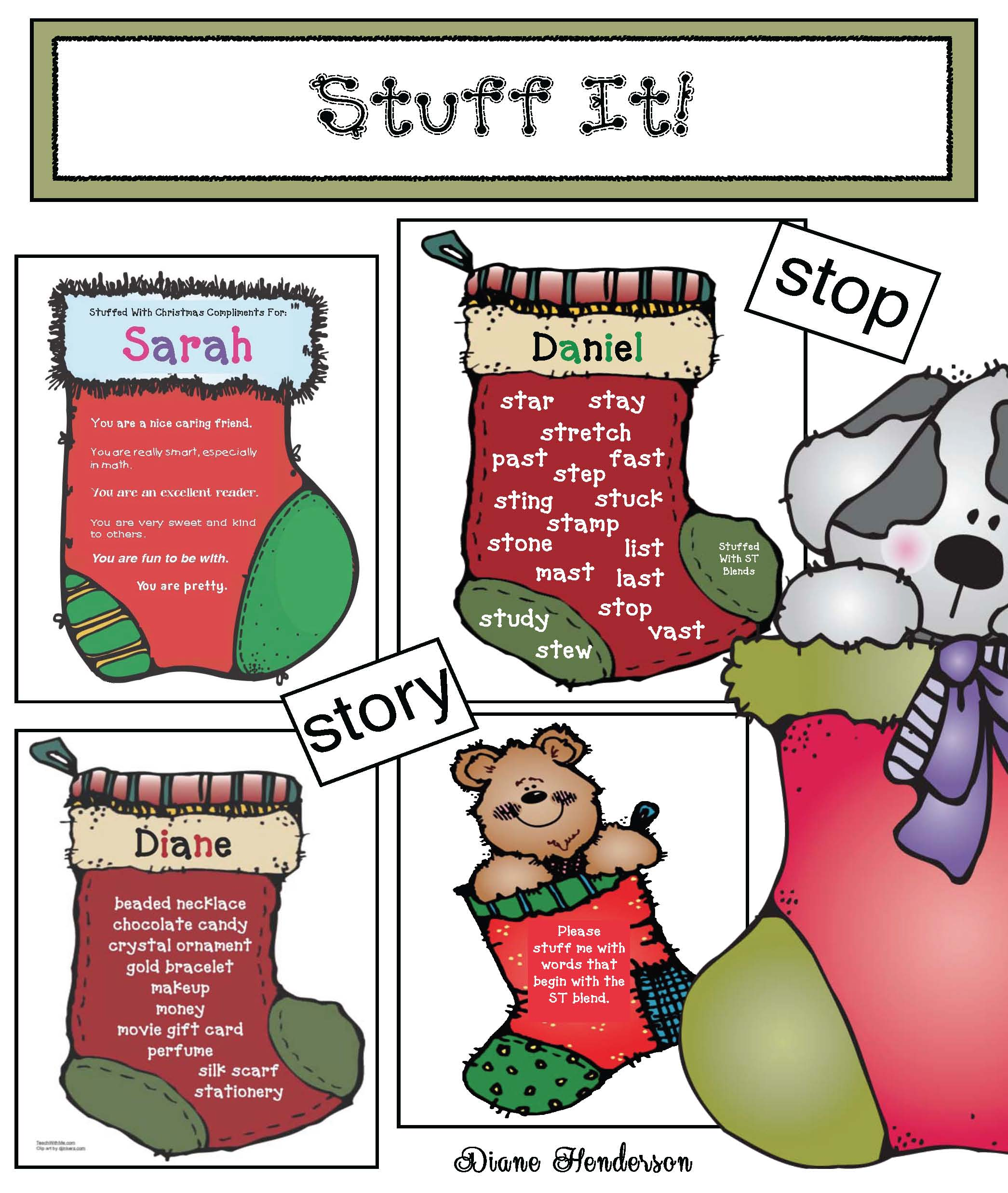 spin a story wheels, creative writing activities, ST blend activities, december writing prompts, elf on a shelf activities, directional writing, christmas centers
