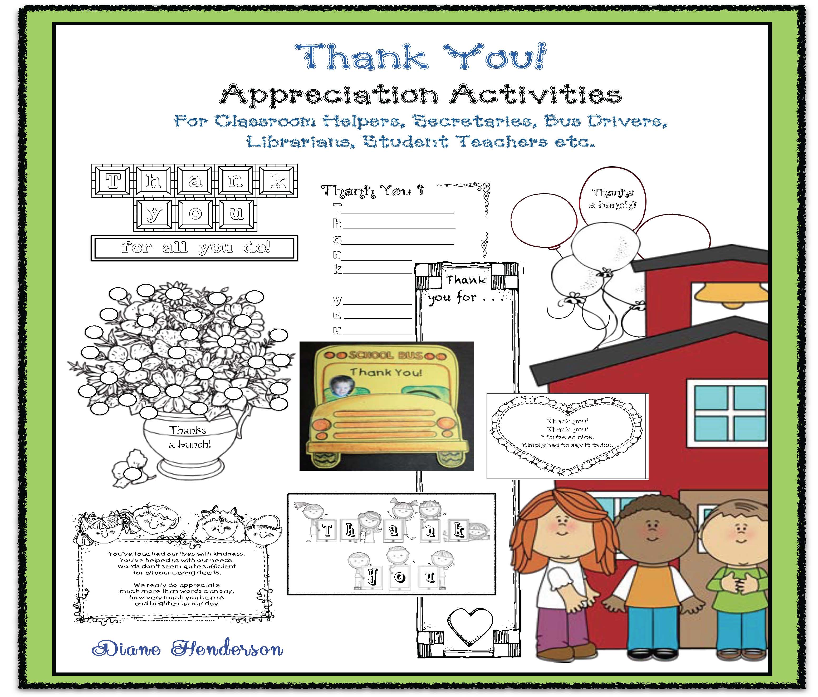 teacher appreciation ideas, teacher appreciation cards, end of the year activities, end of the year crafts, thank you cards, end of the year thank you cards, end of the year teacher appreciation, bus driver card,