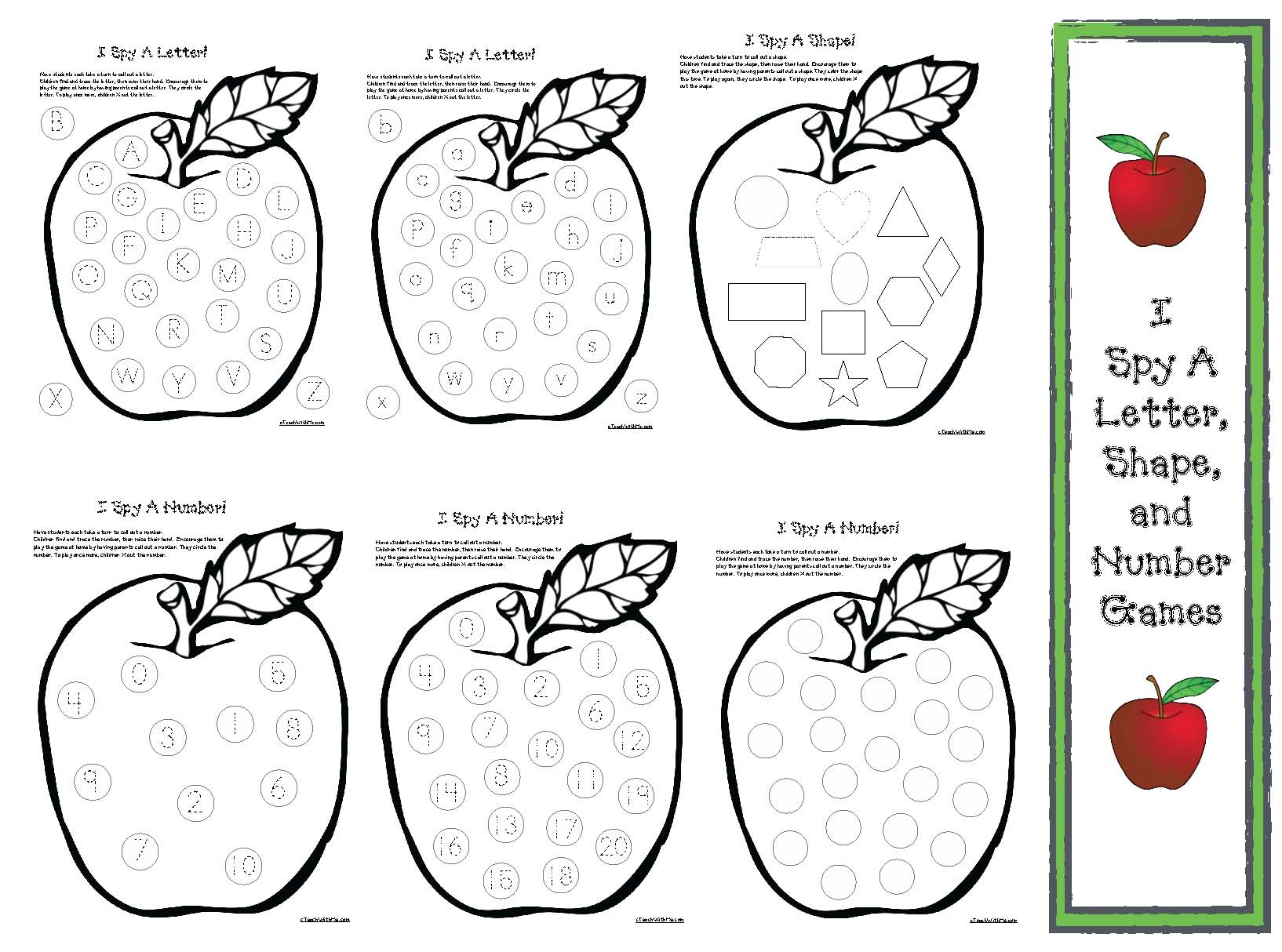 apple activities, apple games, apple math, apple crafts, apple centers, apple science, apple investigations, fraction activities, firx the sentence activities, 5 senses