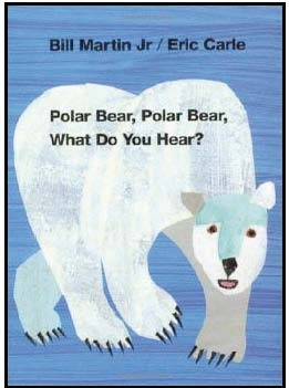polar bear what do you hear activities, 5 senses activities, eric carle books, bill martin books, polar bear crafts, retelling a story activities, sequencing a story activities, farm animal activities, emergent reader books, class made books