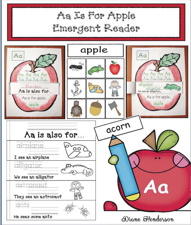 apple activities, alphabet activities, letter a crafts, letter a activities, apple crafts, alphabet wheels, letter a alphabet wheel, emergent readers, letter a matching game, nouns that start with a