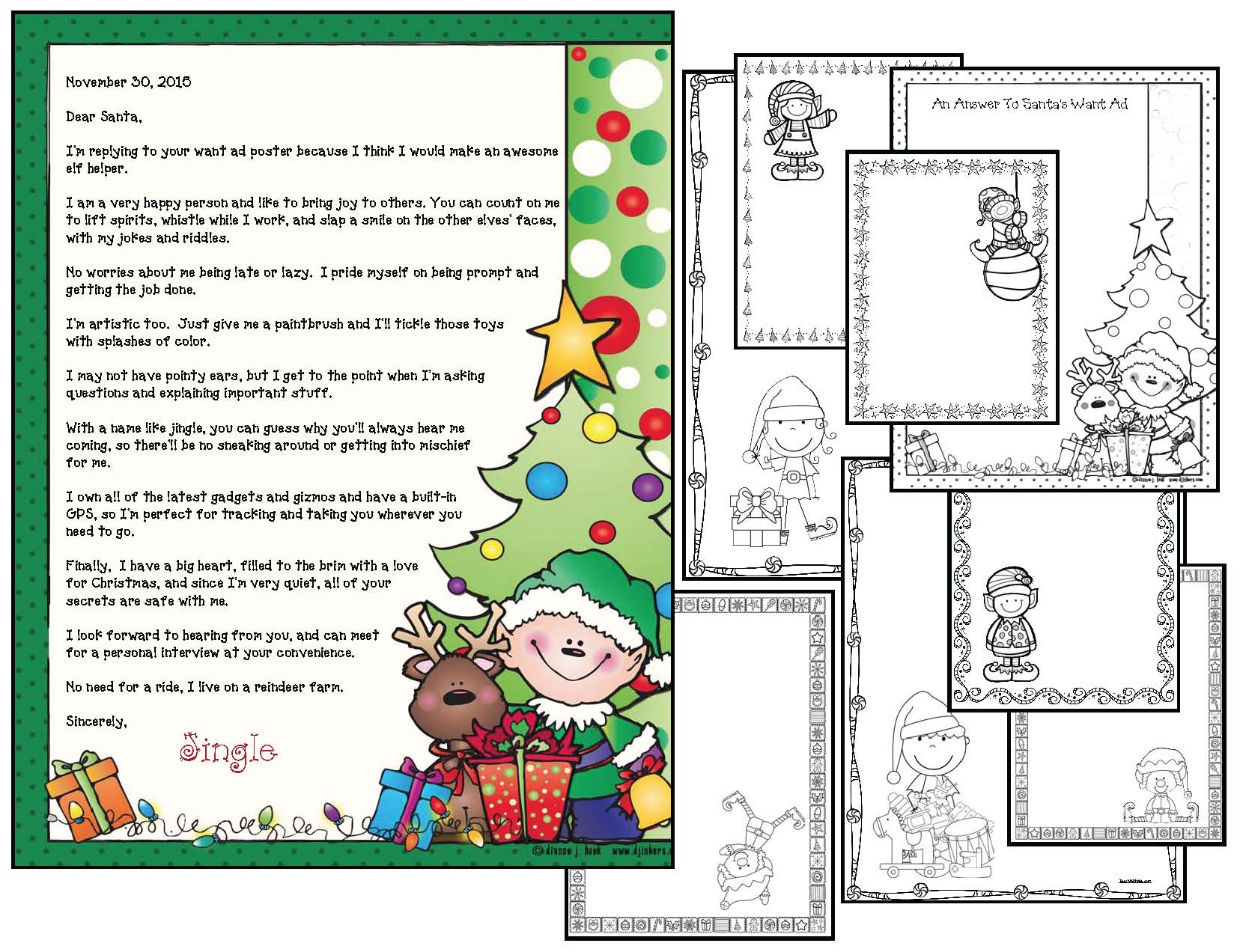 elf on a shelf activities, elf help, behavior modification activities, classroom management ideas, alphabet activities, elf-abet cards, elf on a shelf games, elf on a shelf crafts