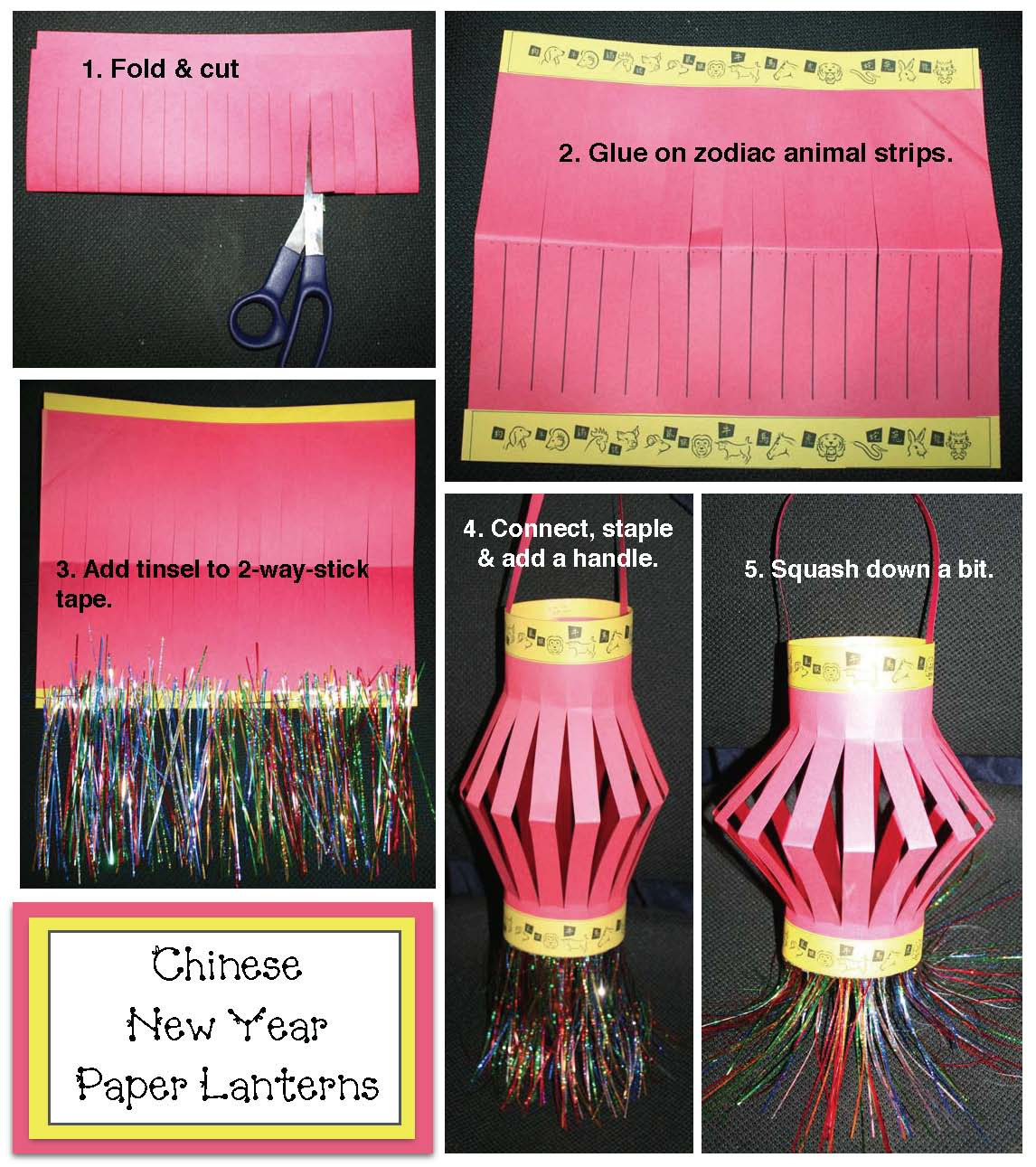 Chinese new year crafts, chinese new year activities, paper lantern craft, crafts for kids for chinese new year, chinese new year activities
