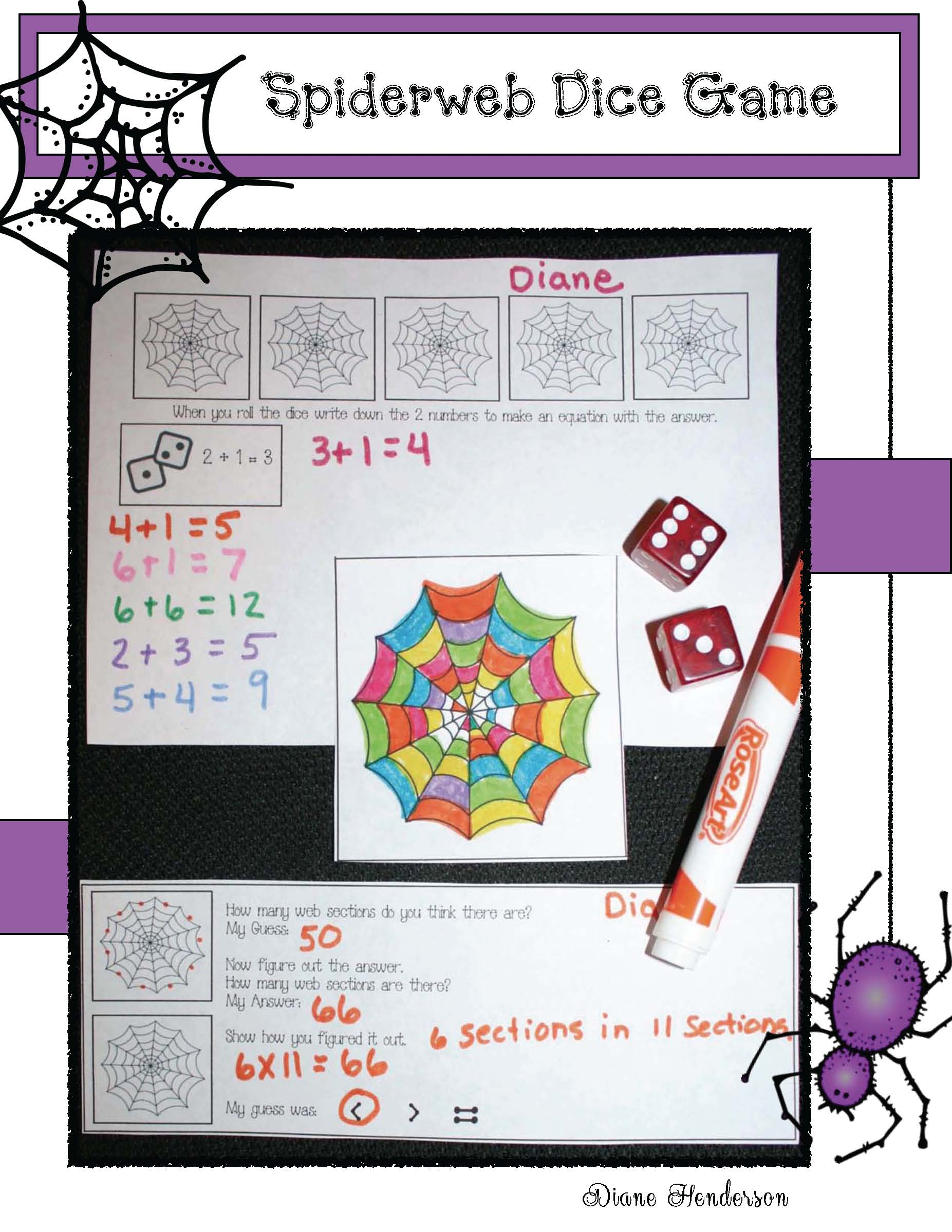 common core spiders, spider games, spider centers, addition games, fall math games spider activities, spider crafts, non fiction spider activities, spider centers, spider writing prompts, graphing spiders, 2D shapes