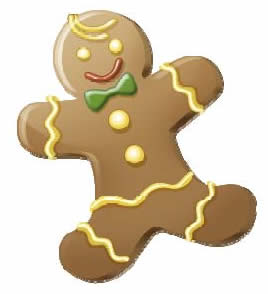 gingerbread cookie recipe, December recipes for kids