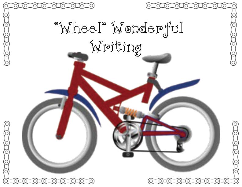 bicycle activities, bicycle crafts, end of the year activities, end of the year crafts, end of the year writing prompts, back to school writing prompts, summer writing prompts, back to school bulletin boards, back to school crafts, back to school writing prompts