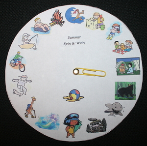 Summer Spin A Story Wheel