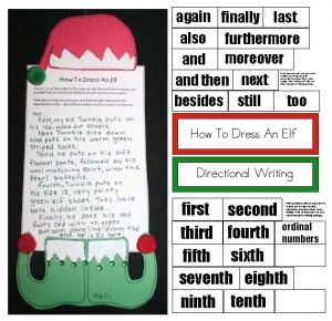 How To Dress An Elf Directional Writing Prompt