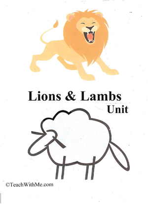Lions and Lambs Unit