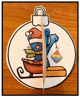 Pete the cat activities, Pete the cat crafts, Christmas Pete the cat, Pete the cat ornament, Christmas ornaments, Christmas crafts, keepsake ornaments, December arts & crafts, Center activities for December