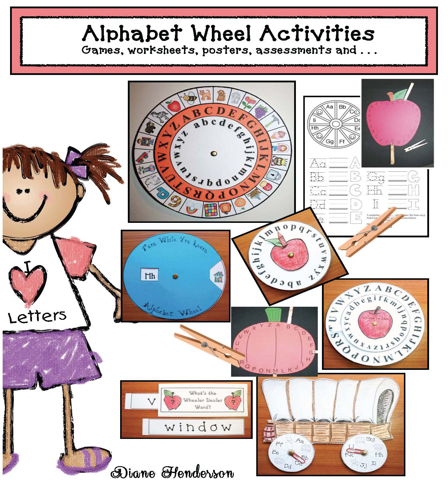 alphabet activities, alphabet worksheets, alphabet games, alphabet posters, alphabet assessments, alphabet cards, alphabet wheels, alphabet crafts,