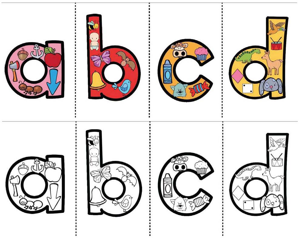 alphabet activities, alphabet crafts, alphabet centers, alphabet stations, alphabet booklets, letter sound activities,