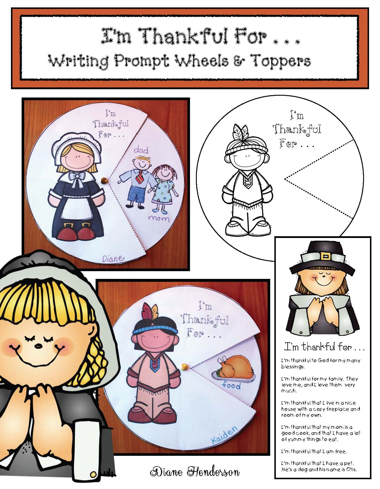 november writing prompts, thanksgiving writing prompts, i'm thankful activities, thanksgiving crafts, thanksgiving activities,