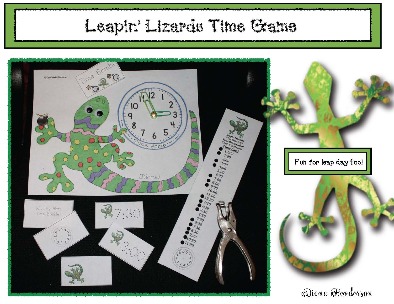cov leapin lizards time game
