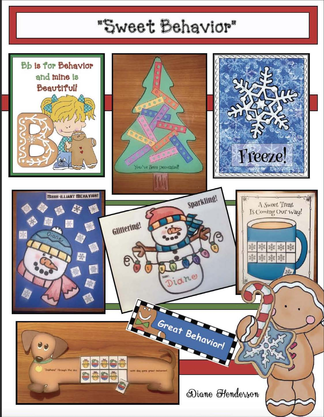 classroom management, behavior modification, teaching tricks & tips, sanity savers, December games, classroom rules,