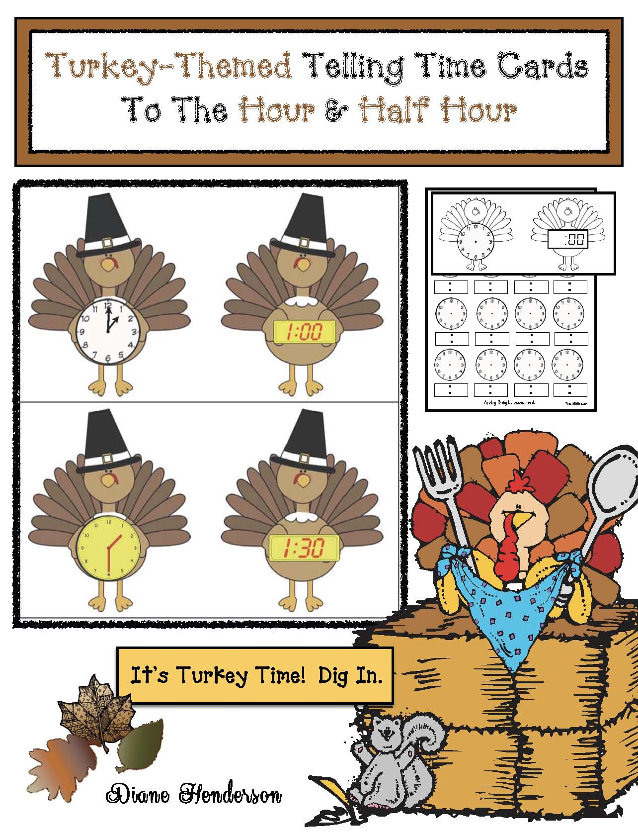 cov turkey time cards