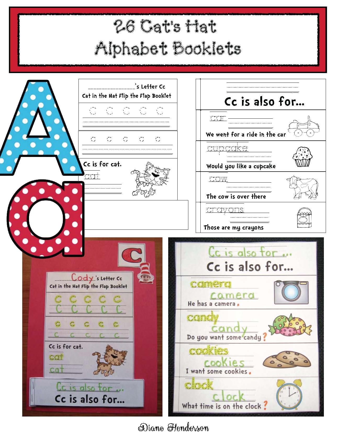 alphabet booklets, emergent reader booklets, 10 frames, 10 frame activities, seuss crafts, seuss writing prompts, seuss activities, cat in the hat activities, cat in the hat crafts, word family activities
