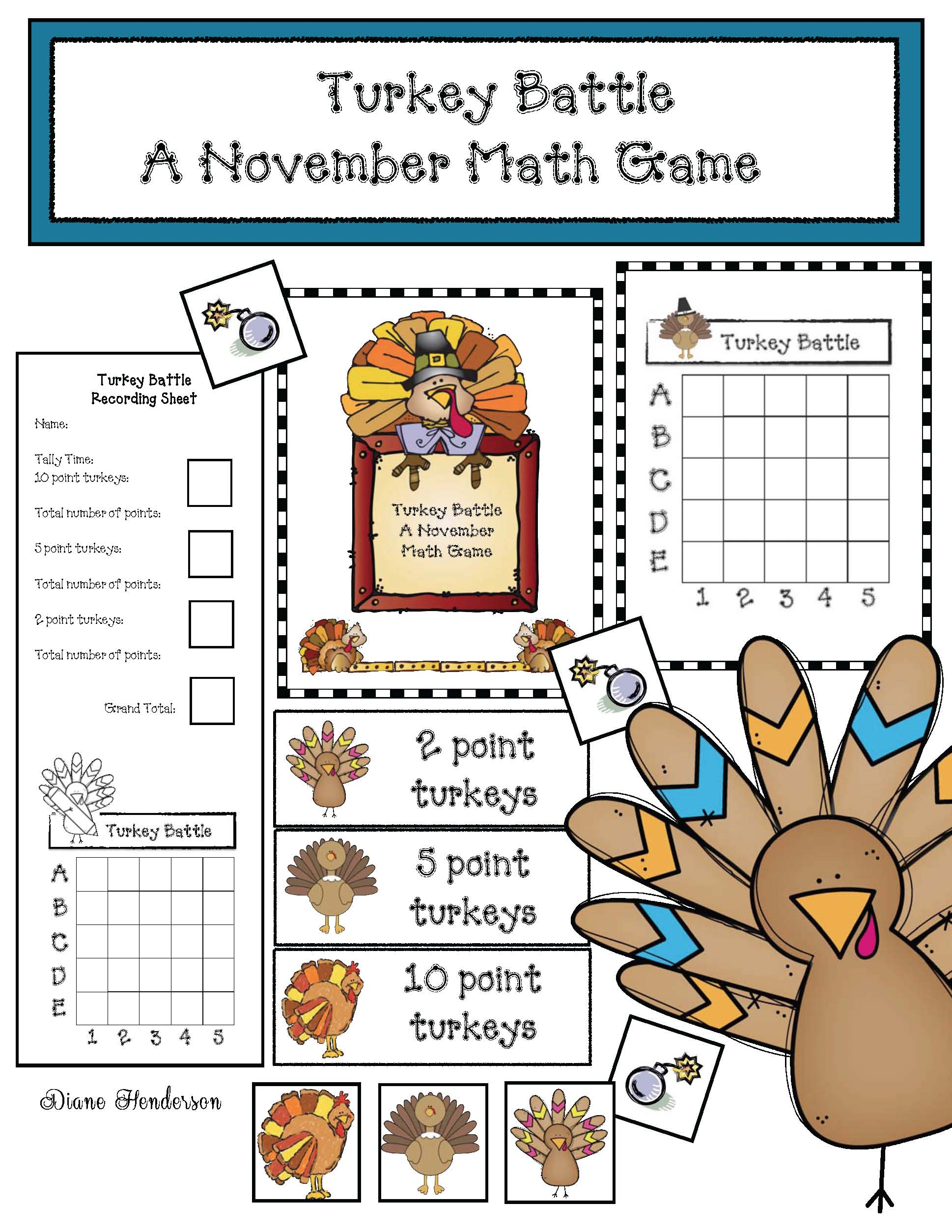 pilgrim activities, thanksgiving activities, thanksgiving games, thanksgiving math, thanksgiving centers, place value activities, place value games, ordered pairs, turkey activities, turkey games, turkey centers, skip counting activities, skip counting by 2s, 5s, 10s