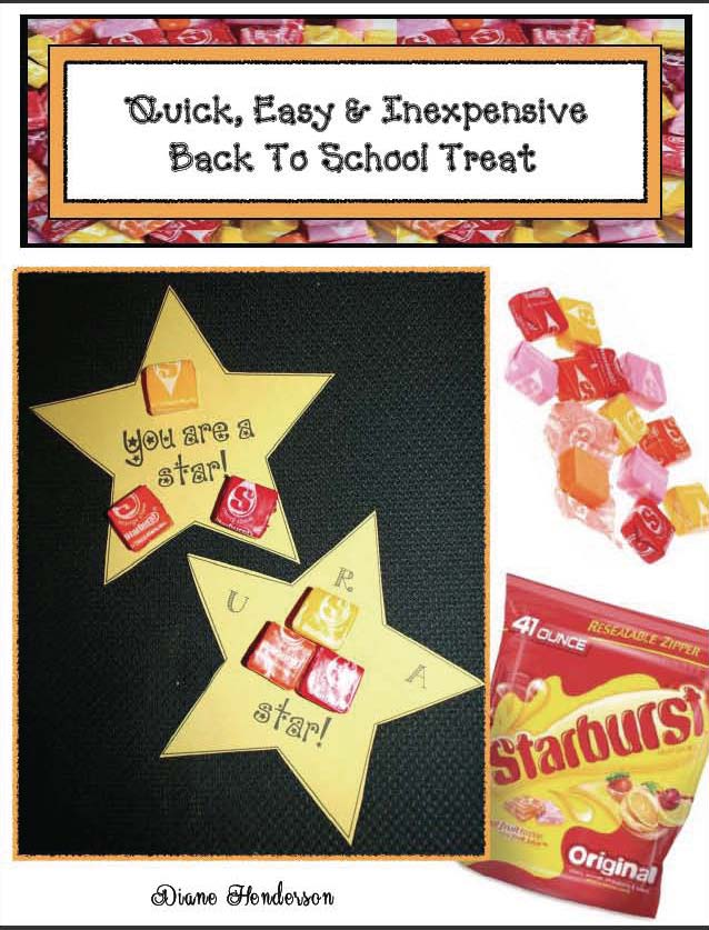 starburst treats, treats for testing, back to school treats, inexpensive treats, icebreakers