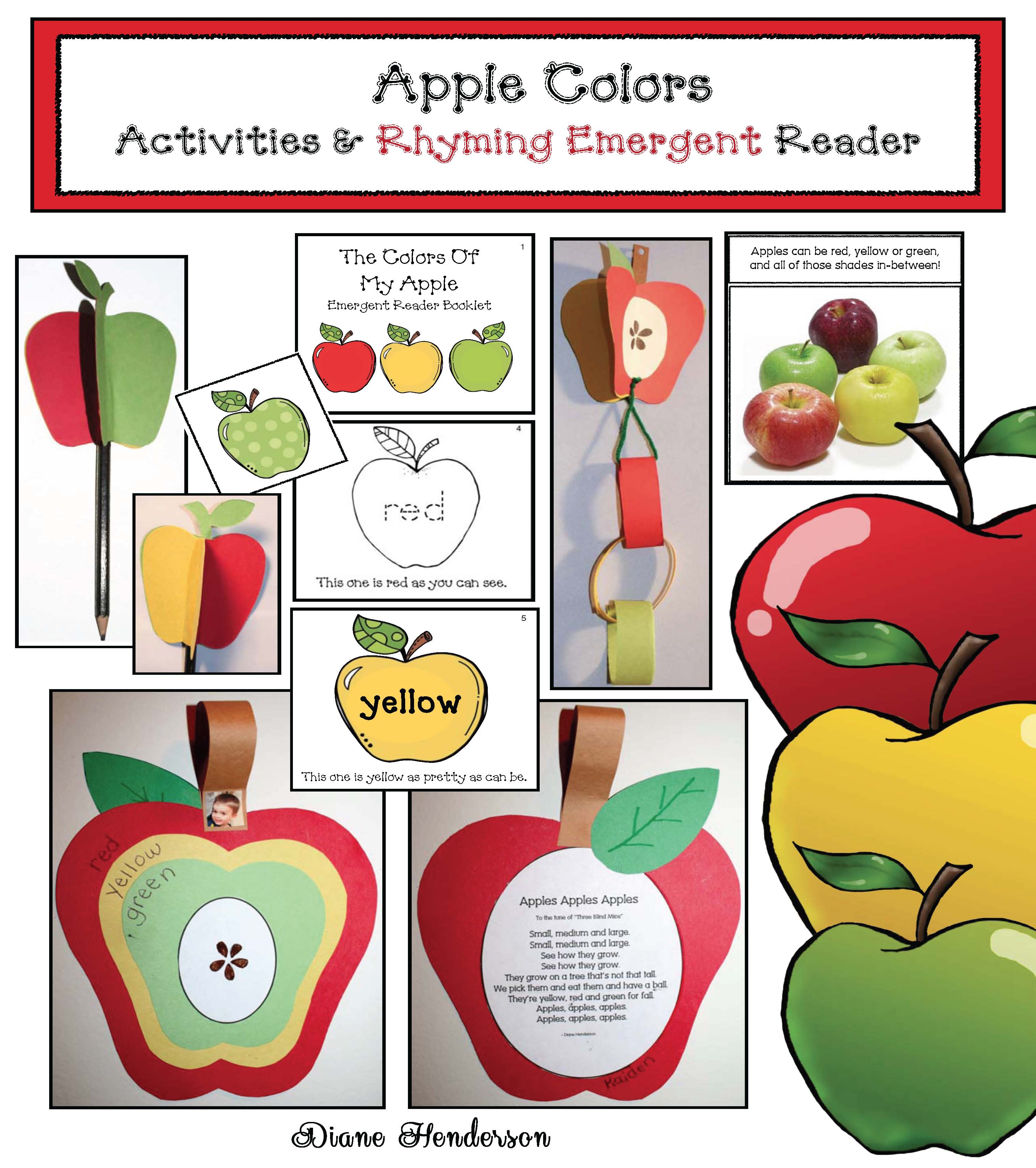 cover tri colored apples new
