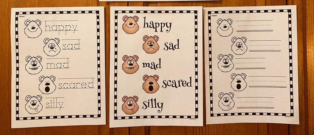 feelings worksheets, feelings crafts, feel wheel, dealing with feelings, emotions, teaching about feelings, teaching about emotions, feelings posters, feelings activities, graphing how you feel, classroom management