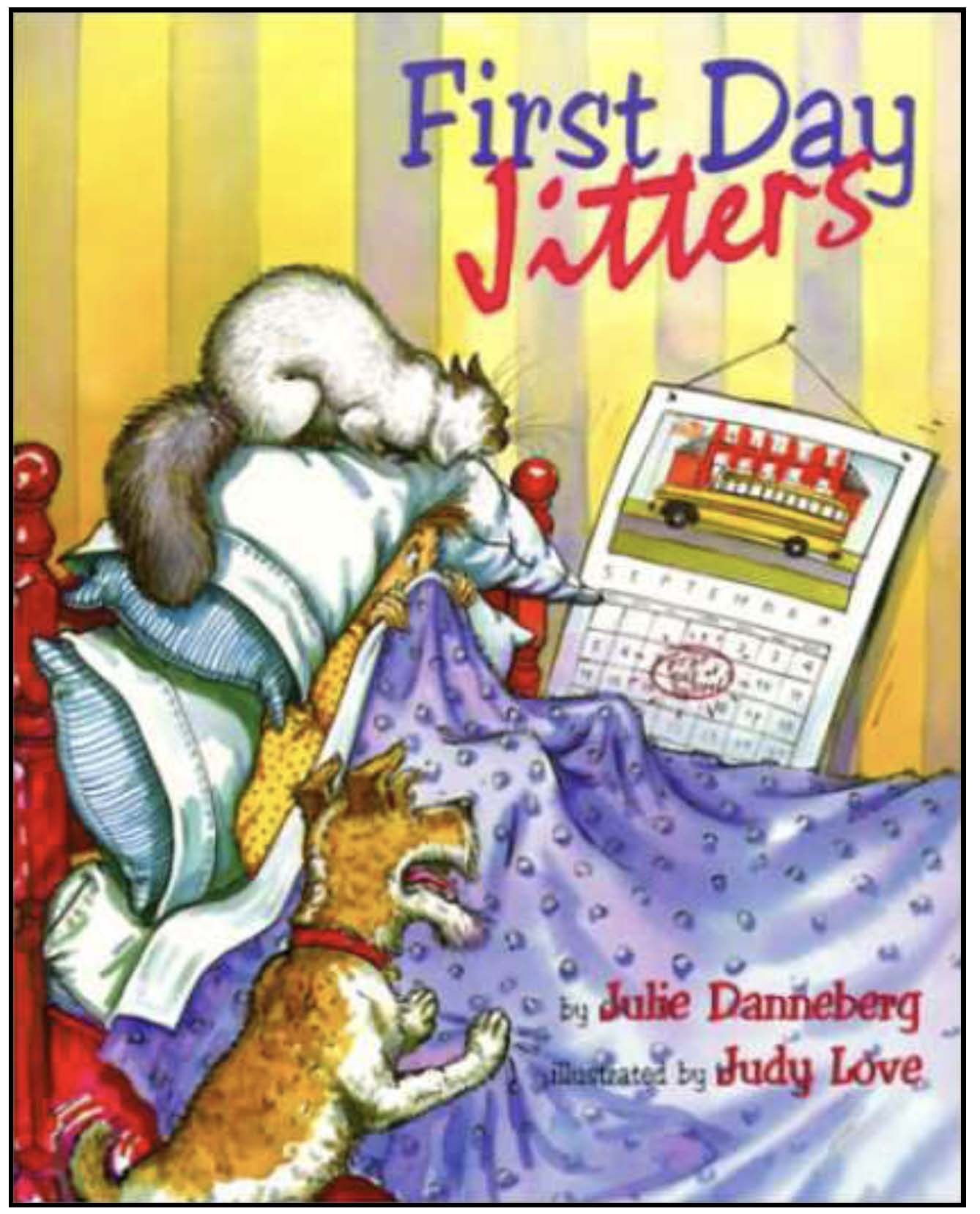 activities to go with first day jitters