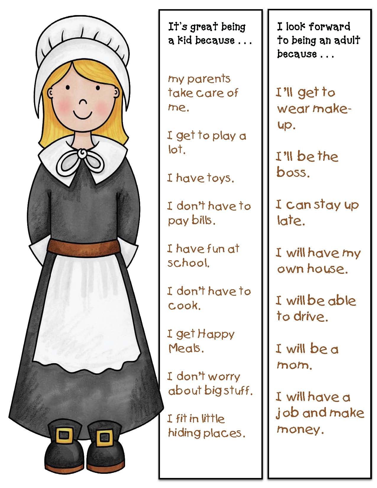 The Littlest Pilgrim story, the littlest pilgrim activities, pilgrim crafts, pilgrim activities, pilgrim writing prompts, thanksgiving activities, thanksgiving crafts, thanksgiving writing prompts, november writing prompts