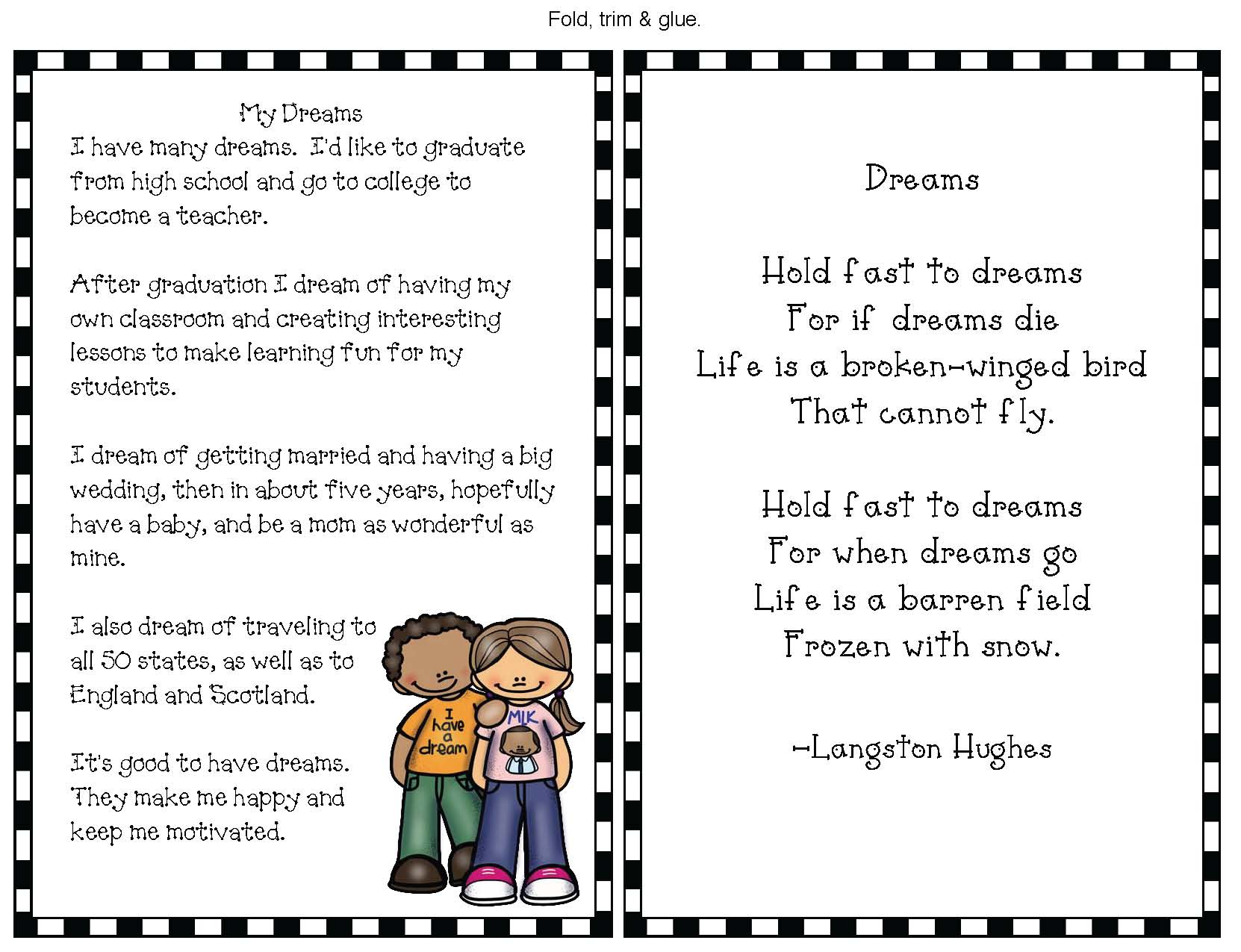 martin luther king crafts, martin lugther king bulletin boards, martin luther king activities, martin luther king bookmarks, martin luther king writing prompts, january wreiting prompts, I have a dream crafts, I have a dream activities