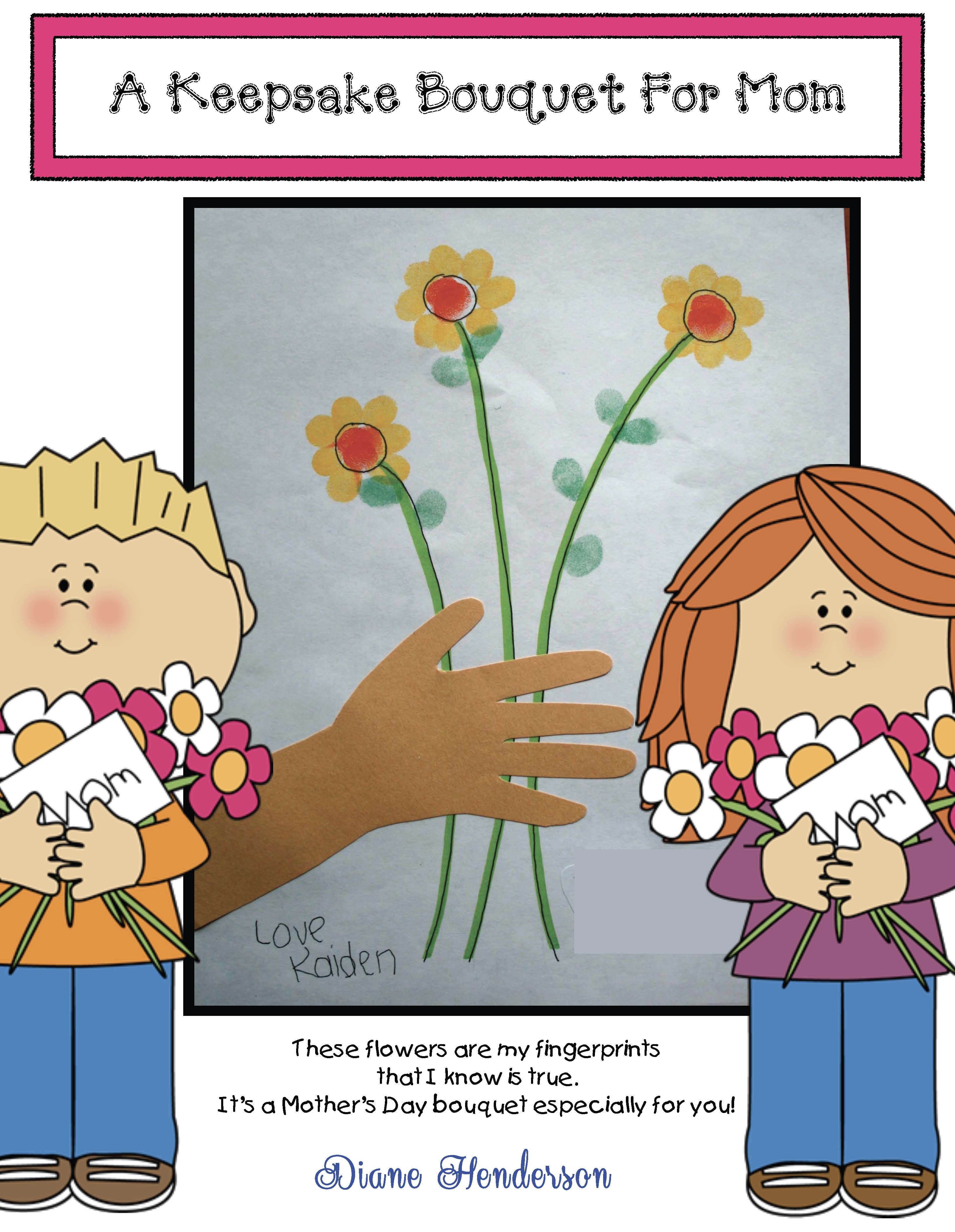 Mothers day crafts, mothers day card, mothers day activities, fingerprint crafts, hand print crafts
