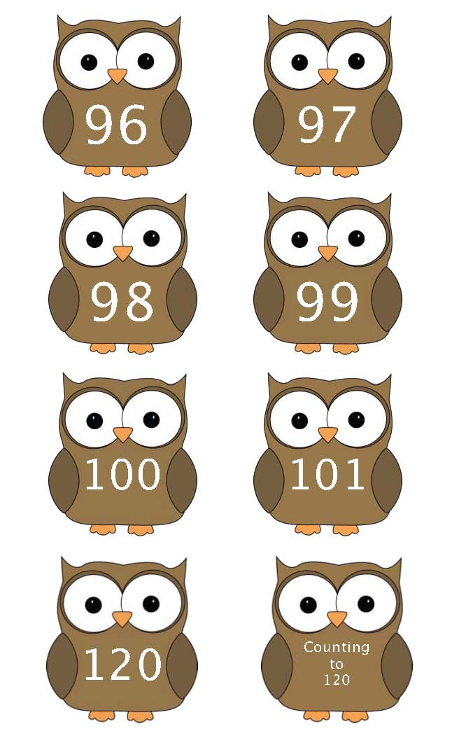 owls, bookmarks, 100 day activities, 100 day centers, 100 day crafts, 100 day writing prompts, 100 day bulletin boards, 100 day number cards, 100 day games,