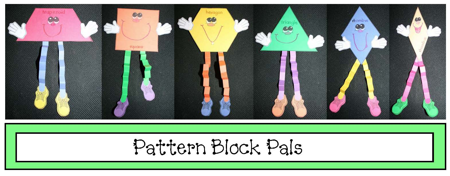 pattern block pals craft cov
