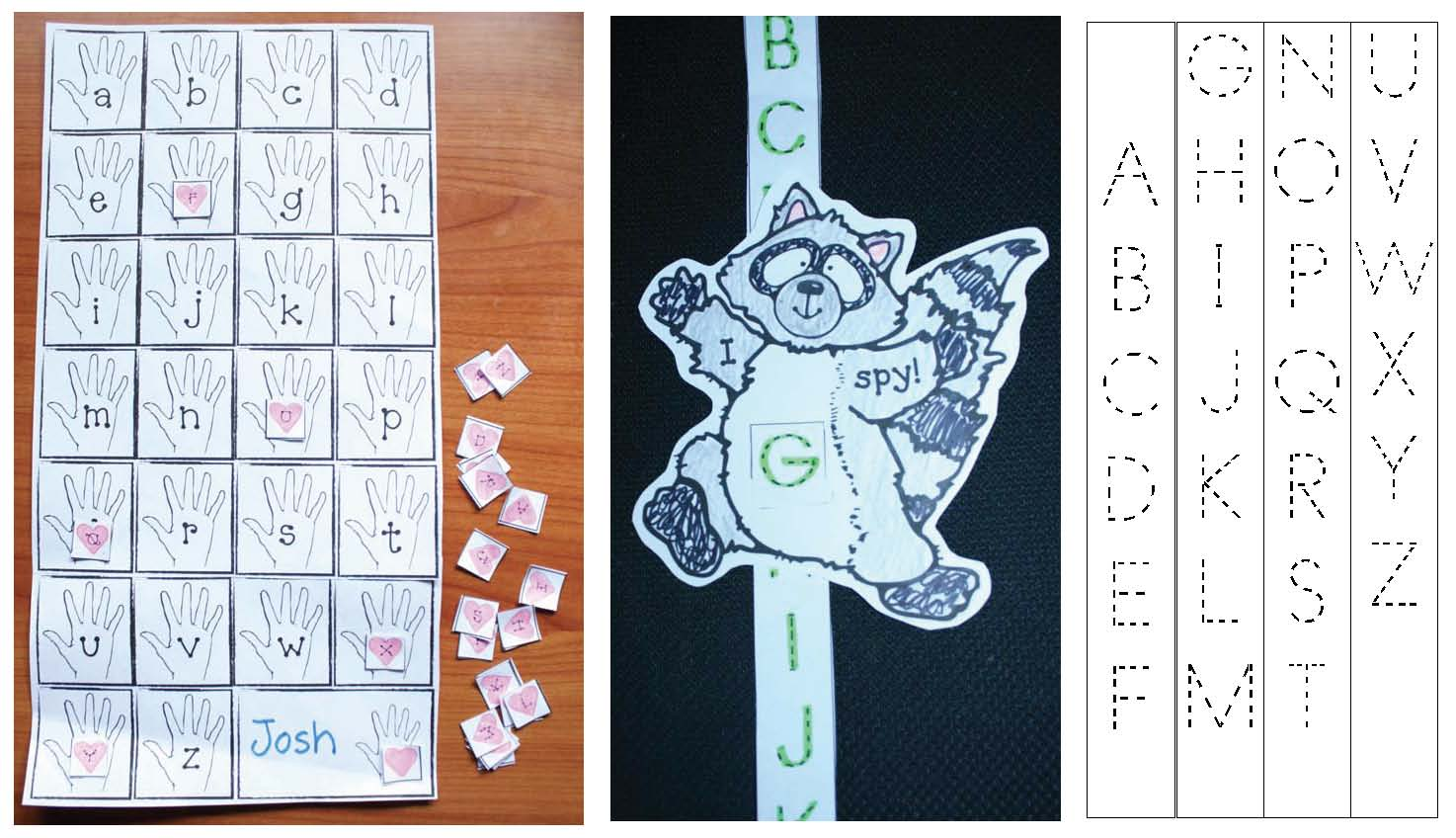kissing hand activities, alphabet activities, counting activities, skip counting by 2s 3s 5s & 10s, back to school activities,