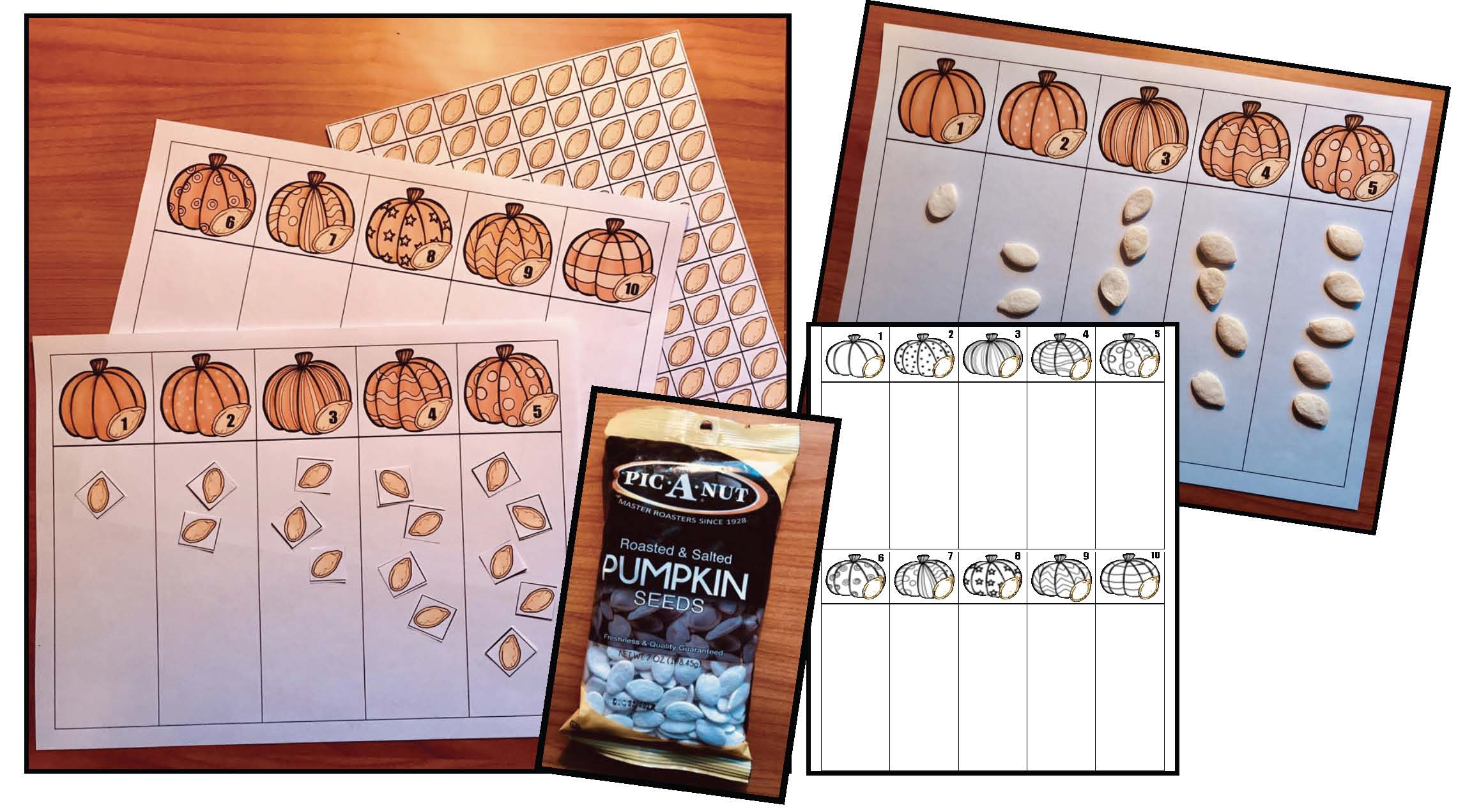 pumpkin activities, counting activities, number activities, pumpkin games, halloween activities, halloween games