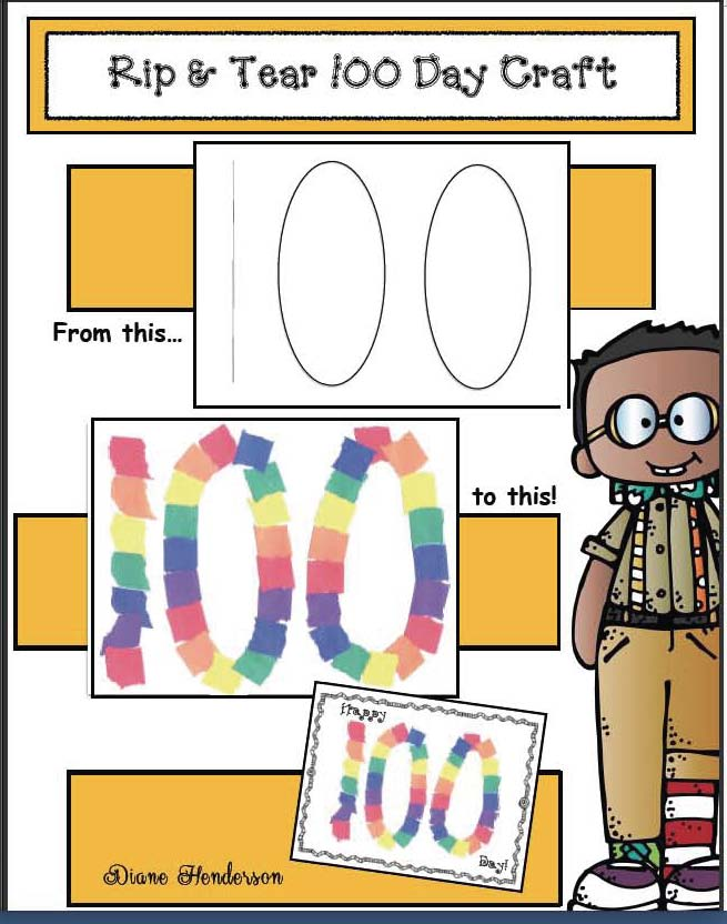 skip counting activities, 100 day activities, 100 day bulletin board ideas, 100 day crafts, graphing activities, 2D shape activities, skip counting by 5s and 10s, fun ways to count to 100, 100 day crown