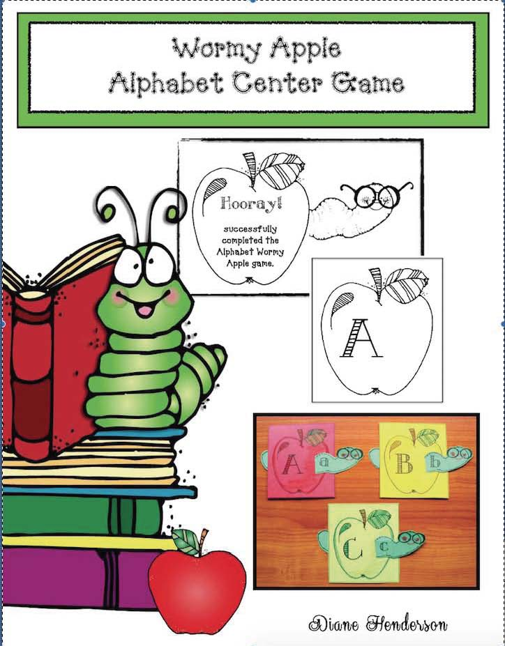 alphabet activities, alphabet games, alphabet centers