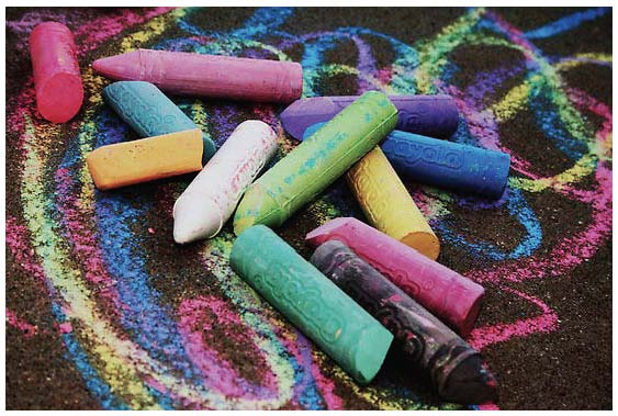sidewalk chalk activities
