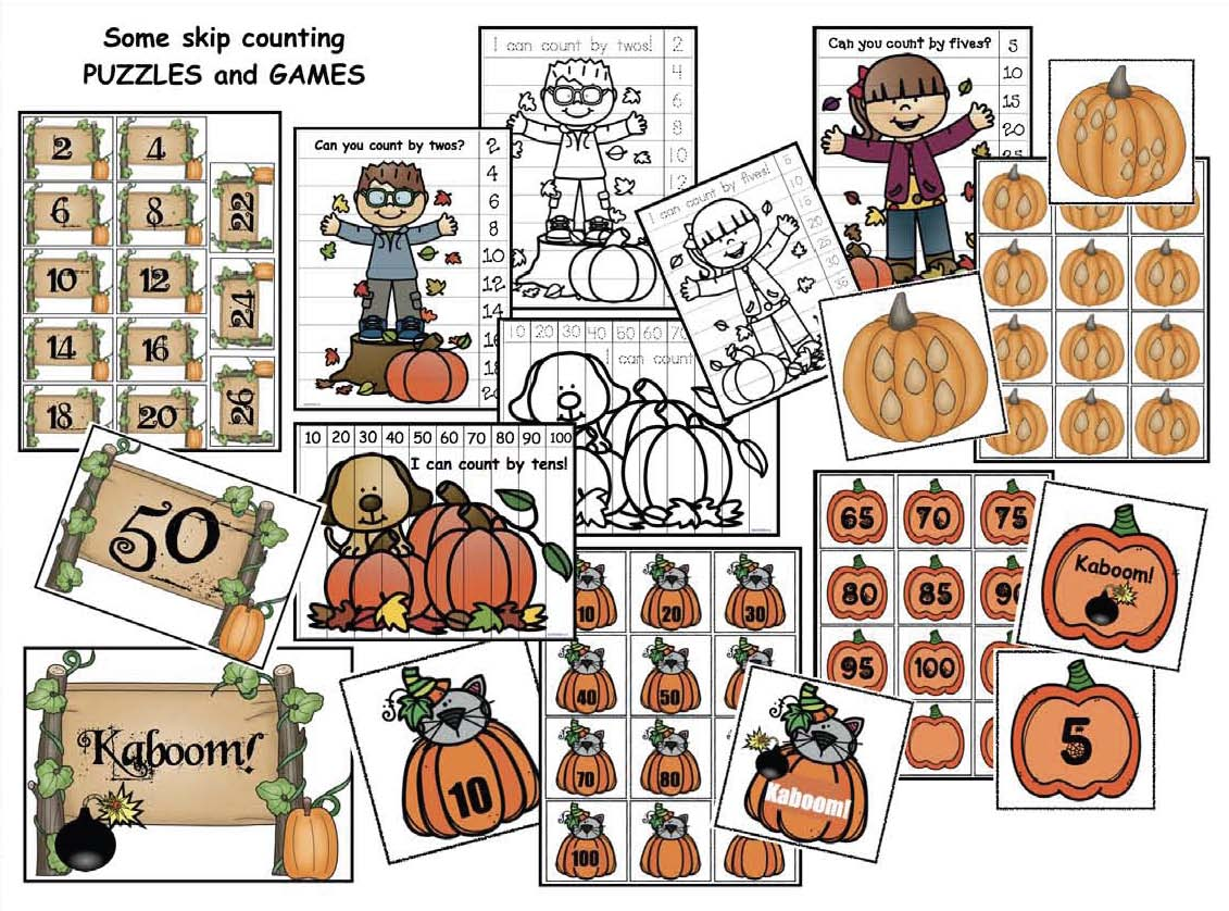 how many seeds in a pumpkin, skip counting activities, skip counting by 2s, skip counting by 5s, skip counting by 10s, pumpkin activities, pumpkin investigation