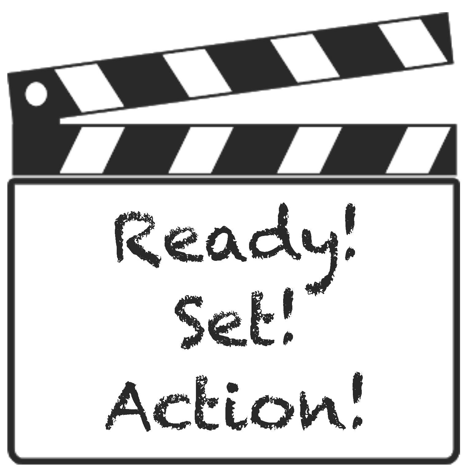 verb activities, grammar activities, ready set action, template for movie action slate, clacker pattern, grammar activities, grammar games, verb cards, verb games,