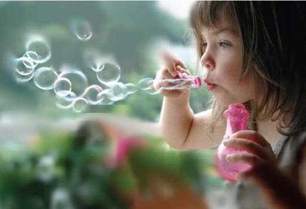 blowing bubbles math activity