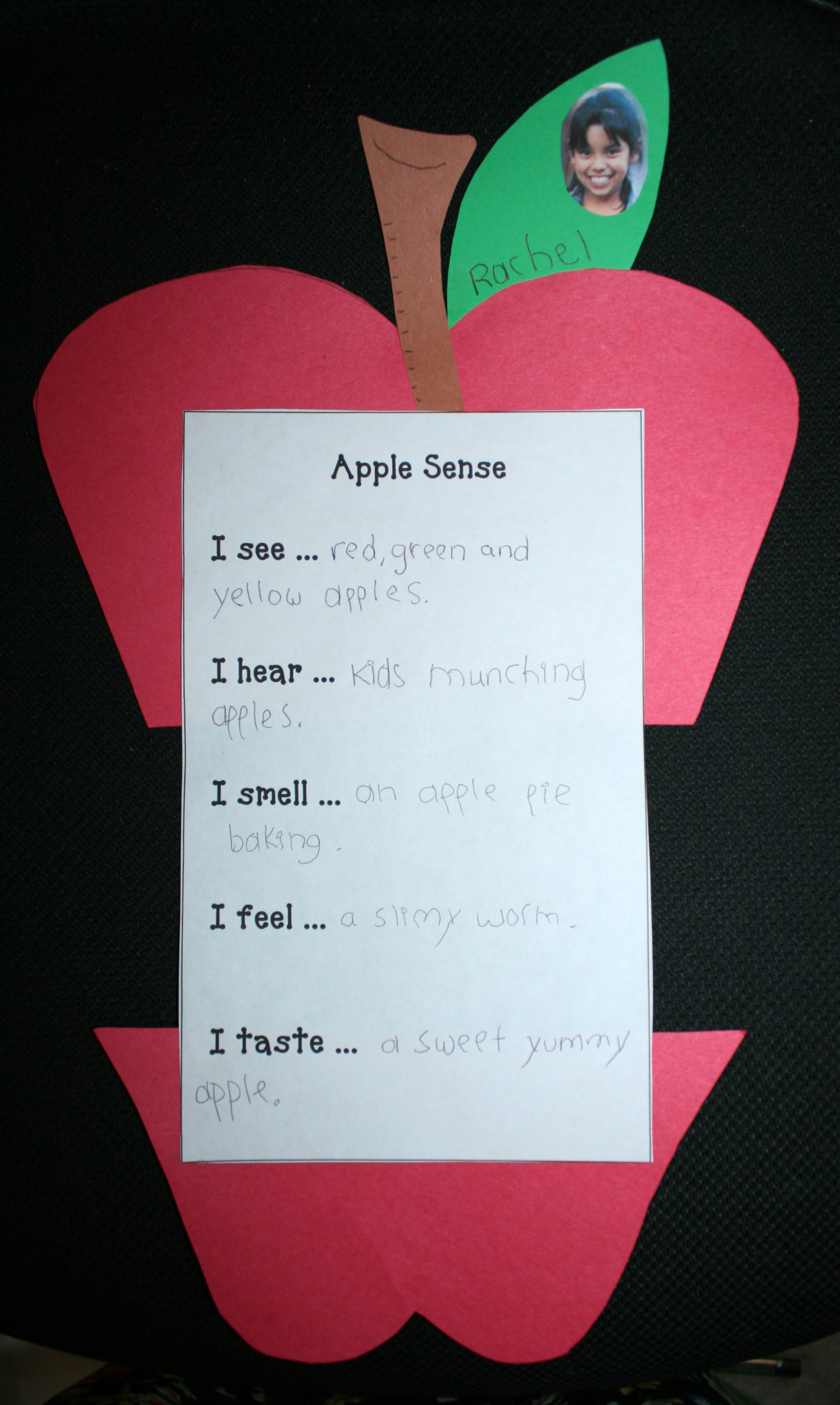 apple activities, apple writing prompts, writing prompts for fall, adjective activities, 5 senses activities, daily 5 activities for fall, september writing prompts, apple arts and crafts, apple crafts, apple bulletin boards, september bulletin boards, writing bulletin boards, apple writing,