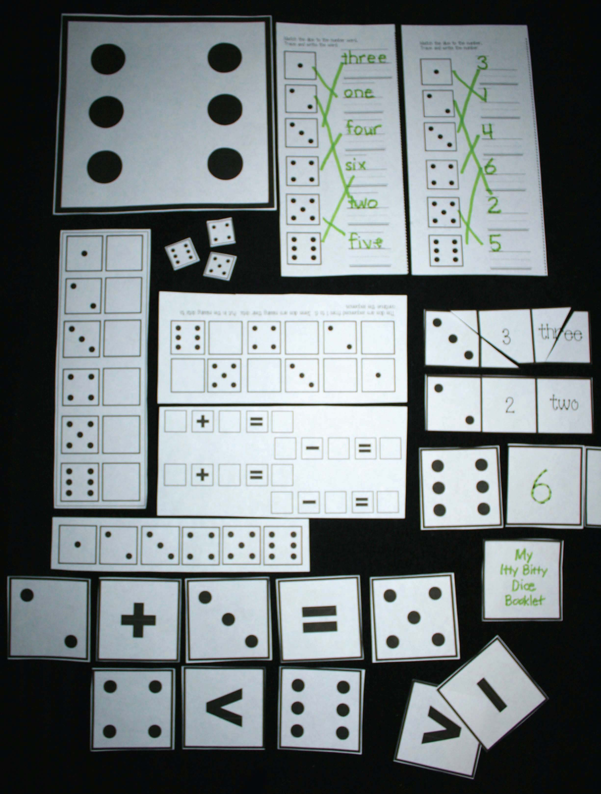 dice games, dice activities, math games, math games with dice, math centers, math activities, math magic tricks, math tips, magic tricks, number assessments, dice templates, dice cards, dice patterns, dice flashcards,