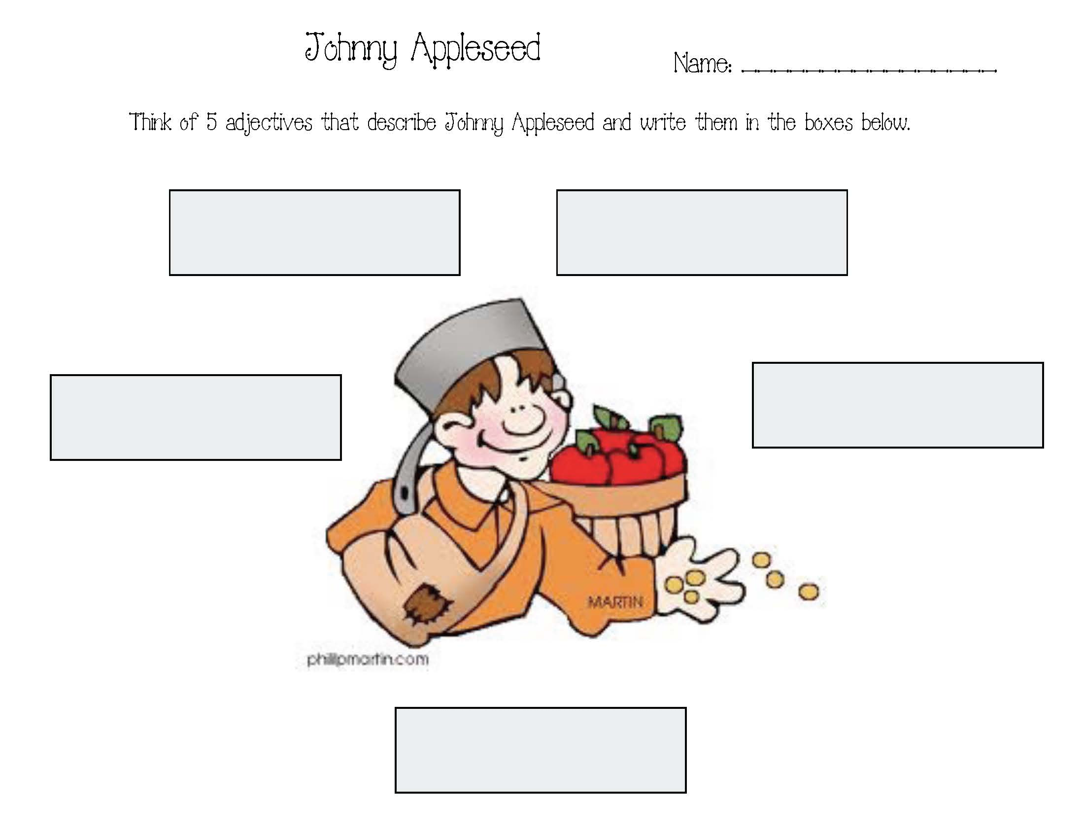 johnny appleseed activities, common core johnny appleseed, johnny appleseed facts, facts about johnny appleseed, johnny appleseed's pot hat, johnny appleseed crafts, johnny appleseed lessons, johnny appleseed writing prompts