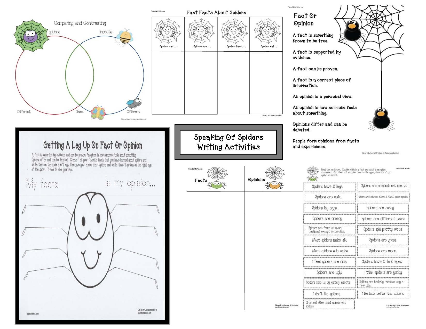 spider activities, spider games, spider crafts, label a spider worksheet, spider mini report graphic organizer, 40 favorite spider books, spider lessons, spider crafts, spider arts and craftes, spider shapes, shape activities, spider writing activities, bat activities, spider and bat venn diagram, venn diagram pattern, venn diagram template,