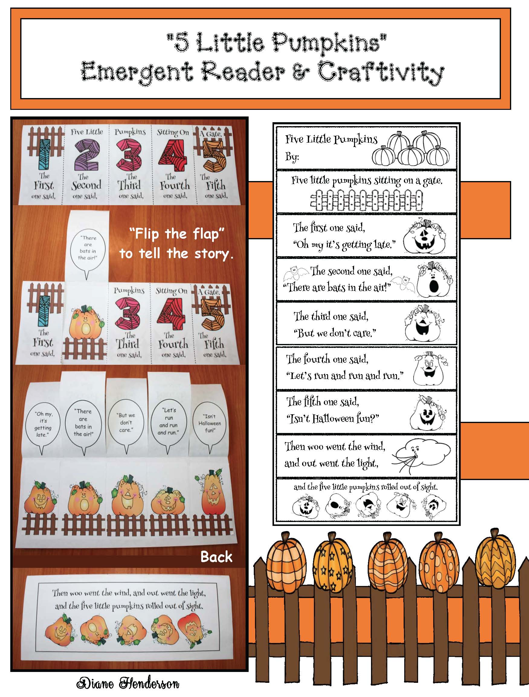 pumpkin activities, pumpkin crafts, math centers, activities for 5 little pumpkins poem, 5 little pumpkins poem, 5 little pumpkins crafts, 5 little pumpkins activities, common core pumpkins, ordinal numbers, october poems, october poetry